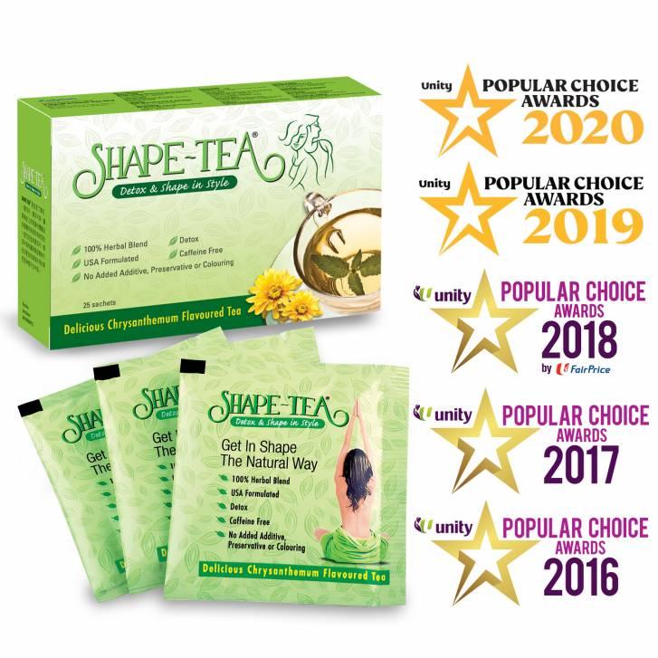 SHAPE-TEA Slimming Tea - Detox & Shape in Style (25 Sachets)