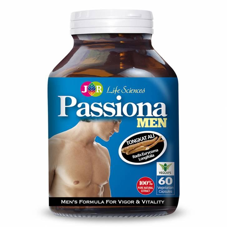 JR Life Sciences Passiona Men's Formula For Vigor & Vitality (60 Veg. Caps)