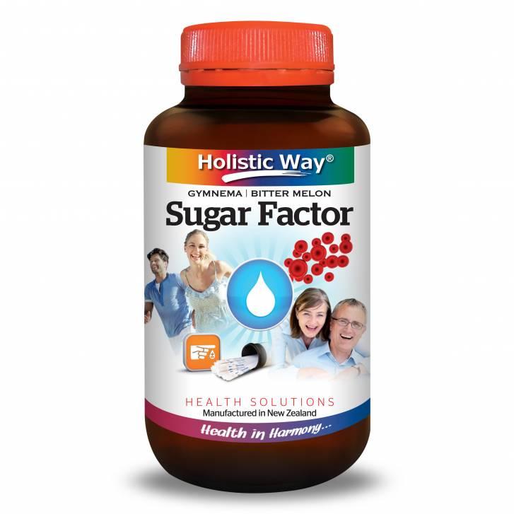 Holistic Way Sugar Factor (60 Vegetarian Capsules)