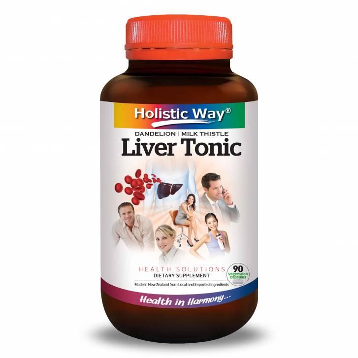 Holistic Way Liver Tonic (90 Vegetarian Capsules)