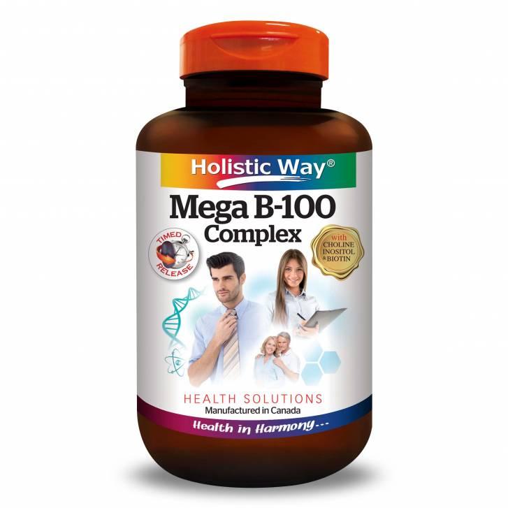 Holistic Way Mega B-100 Complex (60 Tablets)