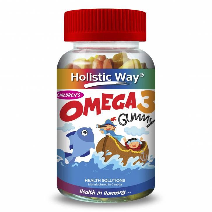 Holistic Way Children's Omega 3 Gummy (90 Gummies)